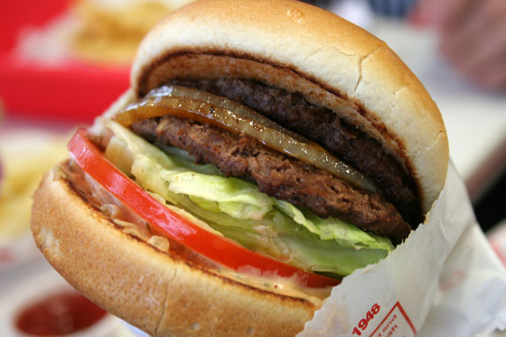 In-n-Out: 2xMeat with Grilled Onions