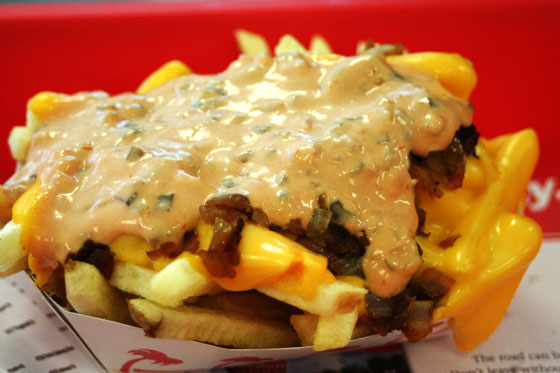 In-n-Out: Animal Style Fries