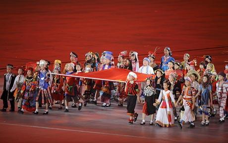 Beijing Olympics - Fake Ethnicities